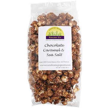 Coastal Maine Popcorn Co. Chocolate Caramel & Sea Salt Popcorn