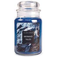 Village Candle Large Glass Jar Candle - Mermaid Tales