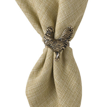 Park Designs Sussex Rooster Napkin Ring