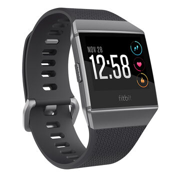 Fitbit Iconic Water-Resistant Smart Fitness Watch