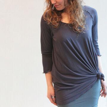 angelrox Womens Swing 3/4-Sleeve Top
