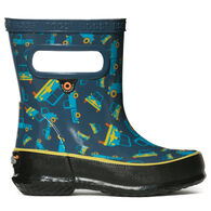 Bogs Boys' & Girls' Skipper Trucks Rain Boot