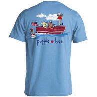 Puppie Love Women's Boat Pup Short-Sleeve T-Shirt