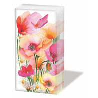 Paperproducts Design Aquarell Poppies Tissue Pack