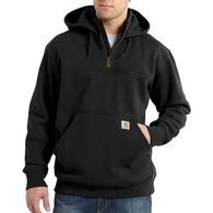 Carhartt Men's Big & Tall Paxton Heavyweight Zip Mock Hooded Sweatshirt