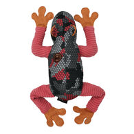 "Dogline 14"" Street Frog w/ Moving Legs Dog Toy"