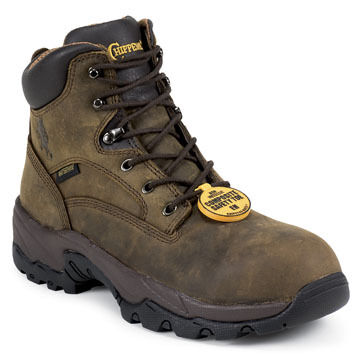 Chippewa Mens 6 Utility Composition Toe Waterproof Work Boot