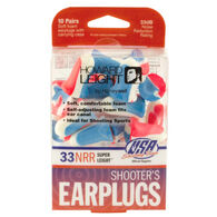 Howard Leight Super Leight Shooter's Ear Plug - 10 Pair