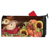 MailWraps Autumn Scarecrow Magnetic Mailbox Cover