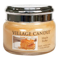 Village Candle Small Glass Jar Candle - Maple Butter