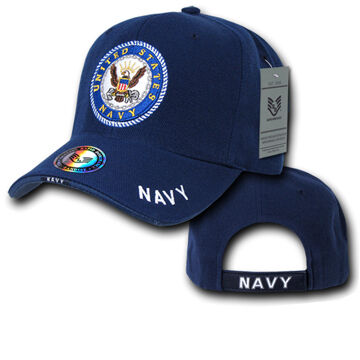 Rapid Dominance Mens Legend Military Cap - Navy