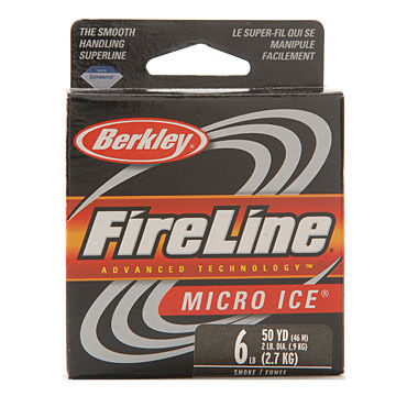 Berkley FireLine Micro Ice Fused Original Superline Ice Fishing Line