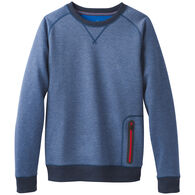 prAna Men's Halgren Urban Crew Neck Long-Sleeve Sweatshirt