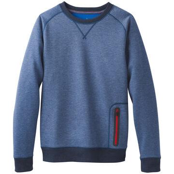 prAna Mens Halgren Urban Crew Neck Long-Sleeve Sweatshirt