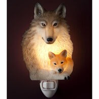 Ibis & Orchid Design Wolf And Pup Nightlight