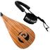 Pau Hana Carbon Teak Adjustable SUP Paddle w/ Leash