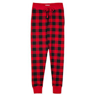 Hatley Little Blue House Women's Buffalo Plaid Sleep Legging