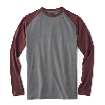 Tasc Performance Mens Carrollton Blocked Long-Sleeve Fitness T-Shirt