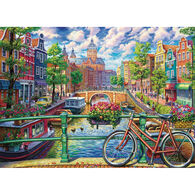 Outset Media Jigsaw Puzzle - Amsterdam Canal