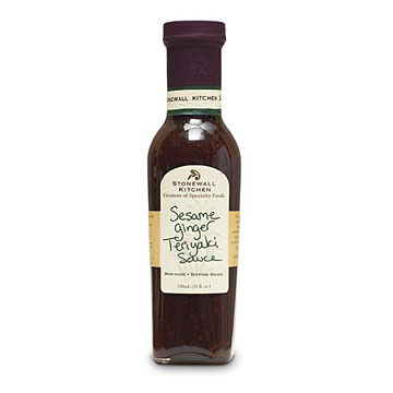 Stonewall Kitchen Sesame Ginger Teriyaki Sauce, 11 oz.