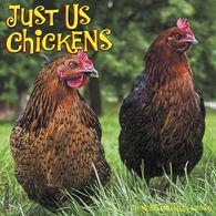 Willow Creek Press Just Us Chickens 2020 Wall Calendar