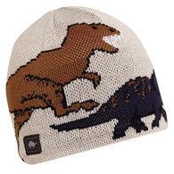 Turtle Fur Youth Jurassic Knit Dinosaur Beanie