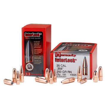 "Hornady Interlock 30 Cal. 150 Grain .308"" SP Rifle Bullet (100)"