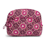 Vera Bradley Signature Cotton Large Cosmetic Bag
