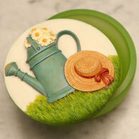 Ibis & Orchid Design Watering Can Keepsake Box