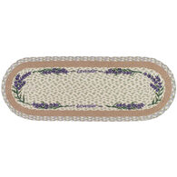 Capitol Earth Lavender Oval Patch Printed Runner