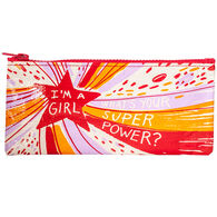 Blue Q Women's I'm A Girl, What's Your Superpower? Pencil Case