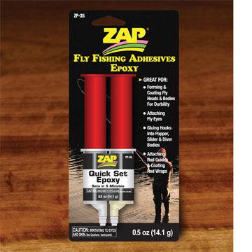 Hareline Zap Quick Set Epoxy Fly Tying Adhesive