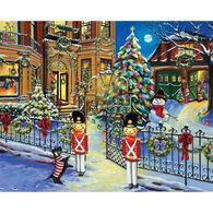 White Mountain Jigsaw Puzzle - Holiday House