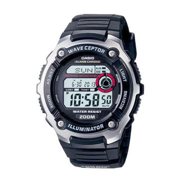 Casio Wave Ceptor WV200A-1AV Atomic Traveler's Watch