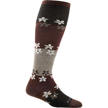 Darn Tough Vermont Womens Flowers Knee High Light Sock