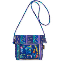 Sun N Sand Women's Mythical Dogs Crossbody Shoulder Bag