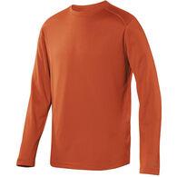 Terramar Men's Helix Mountain Crew Neck Long-Sleeve T-Shirt