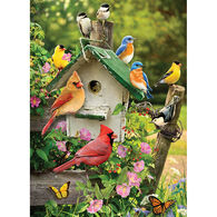 Outset Media Jigsaw Puzzle - Summer Birdhouse