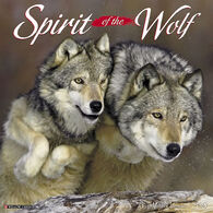 Willow Creek Press Spirit of the Wolf 2018 Wall Calendar