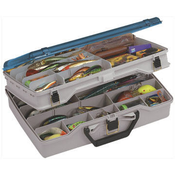 Plano Two-Tiered Satchel Tackle Box