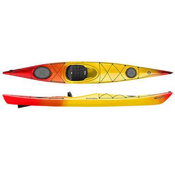 Perception Expression 14.5 Kayak w/ TruTrak Skeg