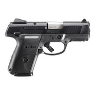 "Ruger SR9c 9mm Black Nitride 3.4"" 17-Round Pistol"