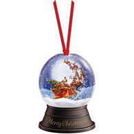 LPG Greetings Santa Snow Globe Ornament Boxed Christmas Cards