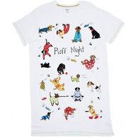 Hatley Women's Ruff Night Short-Sleeve Sleepshirt