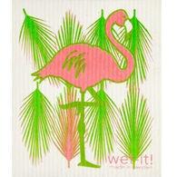 Wet-it! Swedish Cloth - Flamingo