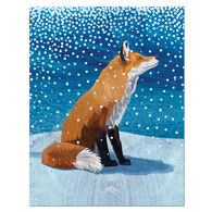 Allport Editions Fox Moment Boxed Holiday Cards