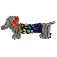 "Dogline 13.5"" Elephant w/ Moving Trunk Dog Toy"