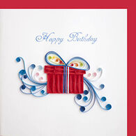 Quilling Card Birthday Present Birthday Card