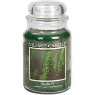 Village Candle Large Glass Jar Candle - Balsam Fir