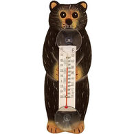 Bobbo Black Bear Window Thermometer